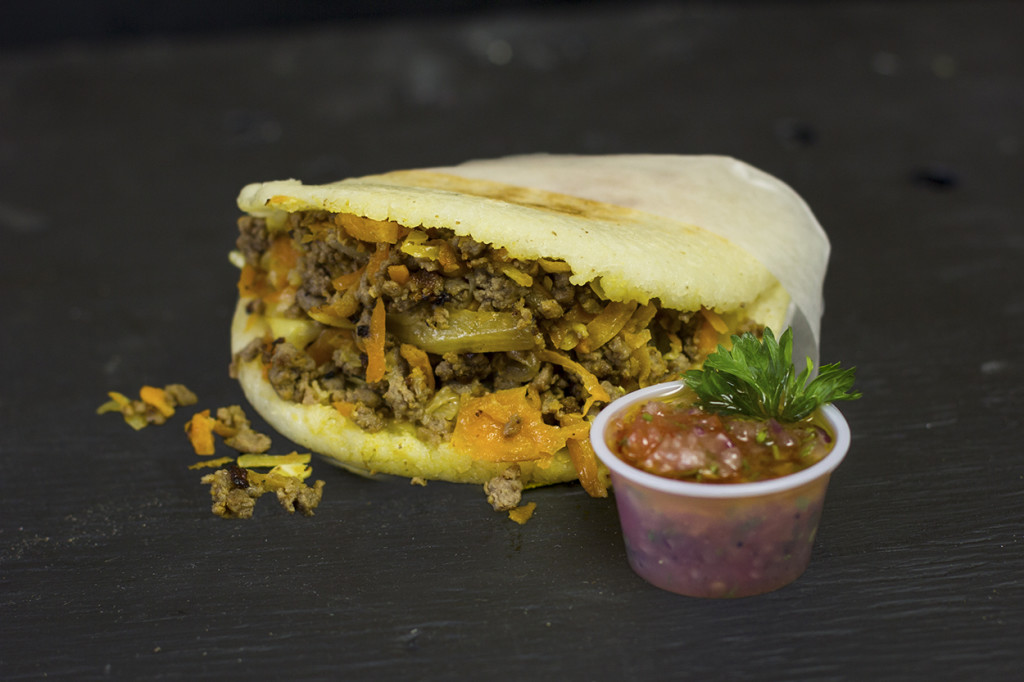 Stuffed Arepa